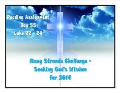 Seeking God's Wisdom - Day 55