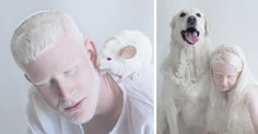 I Captured The Hypnotizing Beauty Of Albino People | Bored Panda