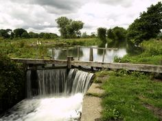 The Driffield Canal at Wansford by Andy Beecroft