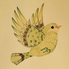 Wildlife in Inks & Watercolours : Photo