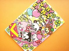 Kawaii Funny Friends Notebook Crux Stationery Collection Japan    Like, Repin, Follow :)