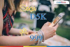 Cách đăng ký gói cước D5K Mobifone nhận ngay 700MB chỉ với 5000đ ký một gói cước 3G Mobifone với chi phí 5000đ/ ngày nhận ngay 700MB data tốc độ sử dụng trong 24h để truy cập Internet mọi lúc mọi nơi. Đăng ký một gói cước 3G Mobifone với chi phí 5000đ/ ngày và có hiệu lực trong 1 ngày đang khiến cho nhiều người dùng di động cảm thấy thích thú. Đặc biệt là khi họ không có nhu cầu sử dụng Internet quá nhiều…