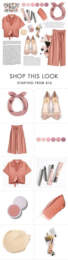 """Coral Chic"" by saviraauliap ❤ liked on Polyvore featuring Semilla, Deborah Lippmann, Anja, Lara, Hourglass Cosmetics and Memo Paris"