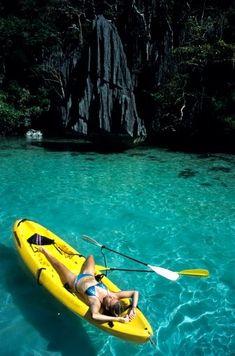 Not kayak fishing but looks damn nice, the water too!