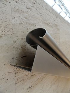 kimbell museum - fort worth - louis kahn - stair handrail detail