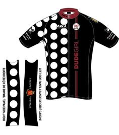 Team Dude Girl GiddyUp Cycling Jersey