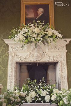 #weddingceremony #floral Yorkshire Glamour | WedLuxe Magazine June 22 #2015
