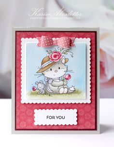 Peppermint Patty's Papercraft: Romantic with Wee Stamps