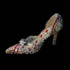 Mosaic Shoe by Chris Zonta, via Flickr
