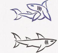Small Tattoo Shark, Simple Shark Tattoo, Tribal Shark Tattoo, Small Tatoos, Tattoo Ideers, Tattoos 7, Tattoo Body, Of Of, Tattos Henna