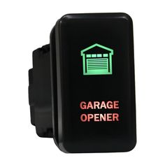 Push switch 8B86GRM 12volt Toyota OEM Replacement GARAGE OPENER Momentary LED GREEN RED