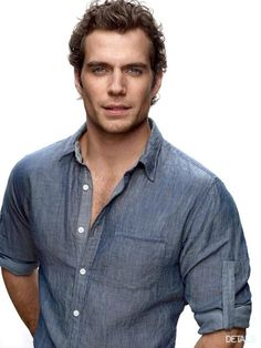 Henry Cavill as Christian Grey