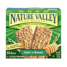 Nature Valley Oats 'N Honey Bars 1 PACK