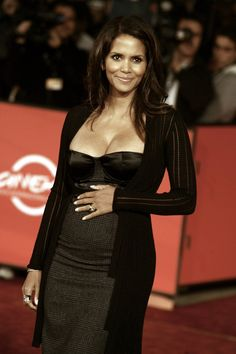 Halle Berry was pregnant over 40.
