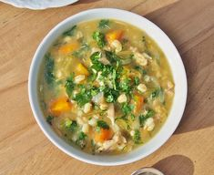 Chicken, Barley and Vegetable Soup | Healthy Home Cafe