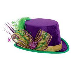 Mardi Gras Deluxe Top Hat