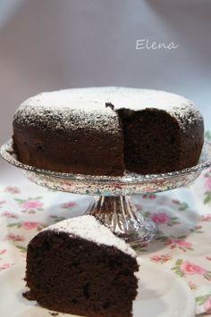 Chocolate y Pimienta: Bizcocho de chocolate suave