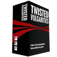 Twisted Vulgarities is a dark, dirty, painfully funny party card game. 225 Playing Cards: Guess the keyword as fast as you can and read the phrase. 100 Task To Pass Cards: If you're stuck someone can bail you out. Adult Game Night Party, Game Night Parties, Adult Party Games, Adult Games, Funny Party Games, Party Card Games, Fun Drinking Games, Action Cards, Playing Card Games