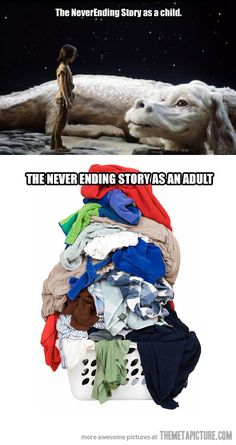 Funny pictures about The NeverEnding Story Continues. Oh, and cool pics about The NeverEnding Story Continues. Also, The NeverEnding Story Continues photos. Funny Shit, Haha Funny, Funny Cute, Funny Memes, Jokes, Funny Stuff, Funny Ads, That's Hilarious, No Kidding