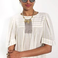 Samar Fringe Necklace - $98  Buy now at www.StellaDot.com/ElizabethRanta