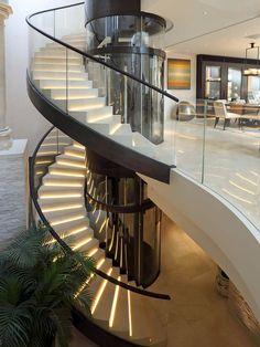 Bringen Sie Ihre Treppen zum Leuchten!  http://www.treppen-deutschland.com/caesarstone-treppen-moderne-caesarstone-treppen