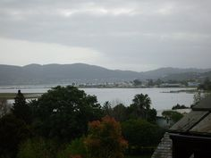 The view from your room and balcony over Knysna Lagoon. Abalone Lodges has 15 various size self-catering log cabins located on the hill - relax, unwind and enjoy! Please call our booking office for our rates and availability of the different lodges on Tel : +27 44 382 2934 or  Email : info@abalonelodges.co.za www.abalonelodges.co.za