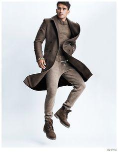 Arthur Kulkov Leaps Into Action for American GQ Style Fashion Editorial image Arthur Kulkov American GQ Style 008