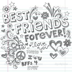 bff heart coloring pages best friends forever coloring pages coloring pages- 4 Best Friends, Best Friend Images, Best Friend Love, Friends Image, Best Friend Quotes, Friends In Love, Best Friends Forever Images, Best Friend Sketches, Friends Sketch