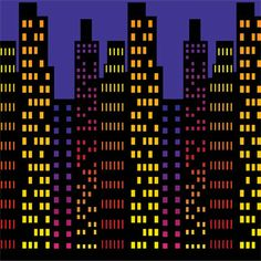 Cityscape Backdrop 30ft Party Supplies Canada - Open A Party