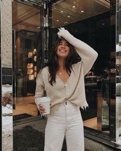 winter outfits for church Casual Winter Outfits Fo - winteroutfits Business Casual Outfits, Casual Winter Outfits, Spring Outfits, Look Fashion, Fashion Outfits, Womens Fashion, Clothes For Women, Clothes Sale, Women's Clothes