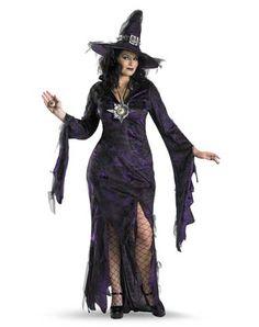 Sorceress Adult Womens Plus Size Costume