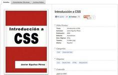 Introducción a #CSS, #Ebook #Gratuito para aprender el lenguaje CSS