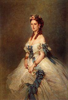 Alexandra von Dänemark 1.12.1844 Kopenhagen - 20.11.1925 England, 1901-10 als Frau von Edward VII Königin von Großbritanien und Irland und Kaiserin von Indien