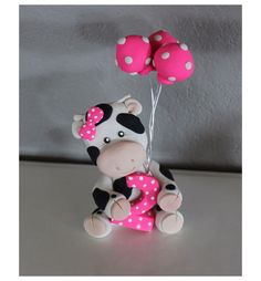 Custom Cow with Balloons Cake Topper for Birthday or Baby Shower by carlyace on Etsy https://www.etsy.com/listing/186067559/custom-cow-with-balloons-cake-topper-for