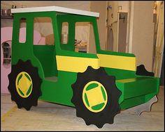 diy tractor beds   tractor+bed+john+deere+theme+bed+tractor+bed-+john+deere+tractor+theme ..