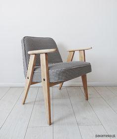 Fotel 366 z lat 60-tych proj. Józef  Chierowski