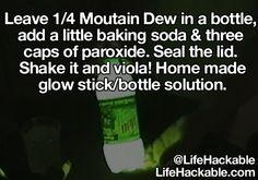 Life Hackable: Homemade Glow Stick