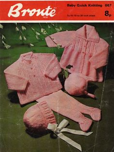 Check out this item in my Etsy shop https://www.etsy.com/uk/listing/285538905/bronte-667-vintage-knitting-pattern-pram