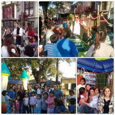Somos la Unión Cívica Radical #DiaDelNiño en Tiro Federal. #LaJRQueMilita Juventud Radical Tucumán - La Celestino #UCR