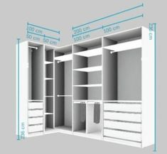 58 Ideas bedroom wardrobe corner walk in- - wardrobe.- 58 Ideas bedroom wardrobe corner w Wardrobe Design Bedroom, Bedroom Cupboard Designs, Bedroom Cupboards, Master Bedroom Closet, Bedroom Wardrobe, Diy Wardrobe, Modern Wardrobe, Walk In Closet Design, Closet Designs