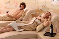 Relax and wine in the Thesan Etruscan Spa