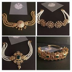 Latest Necklace Designs That Are Trending This Year Gold Earrings Designs, Gold Jewellery Design, Necklace Designs, Kids Gold Jewellery, Gold Designs, Fashion Jewelry Necklaces, Beaded Jewelry, Gold Jewelry, India Jewelry
