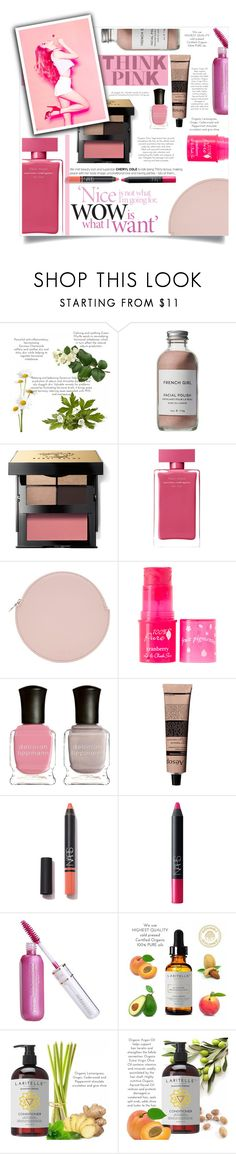 """Wow is what I want"" by elisabetta-negro ❤ liked on Polyvore featuring beauty, French Girl, Bobbi Brown Cosmetics, Narciso Rodriguez, Kara, 100% Pure, Deborah Lippmann, Aesop and NARS Cosmetics"