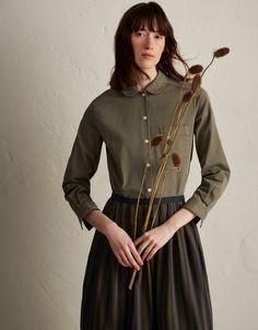 TOAST | Stretch Cotton Twill Shirt