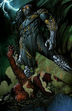 Classic Fight from two notable characters from Top Cow comics. Can Jackie defeat a witchblade powered up Ian Notthingham? Top Cow, Image Comics, Pandora, Nottingham, Animation, Art Google, Master Chief, Comic Art, Battle