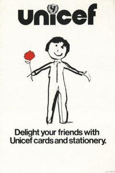 UNICEF poster circa 1982