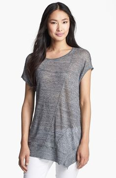 Eileen Fisher Linen Mélange Jersey Top available at #Nordstrom