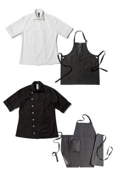 Chefs, Layer It Up! Amplify your Shannon Reed Chef Shirts with these #UtilityChic pieces: shannonreed.com