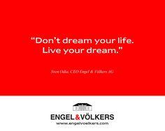 #EVUSA #EngelVoelkers #DreamsComeTrue