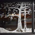 Raam illustratie bomen door Atelier 15